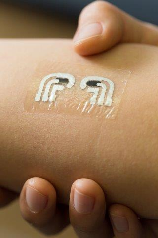Rub-On, Tattoo-Like Sensor for Testing Blood Sugar Levels?